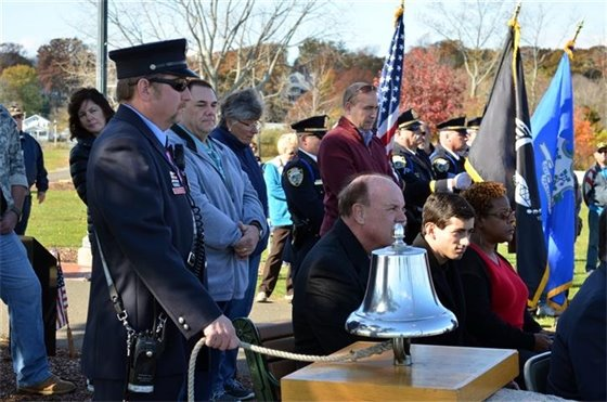 Veterans honored, 10th phase of Brick Campaign launched