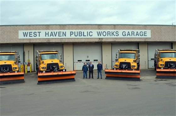 New plow trucks rolled out