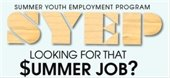 Applications available May 1-31 for summer youth jobs