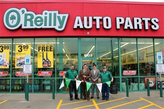 O'Reilly Auto Parts celebrates opening on Route 1