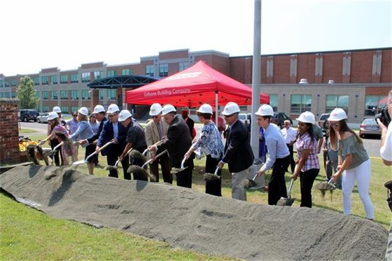 Groundbreaking heralds new West Haven High School