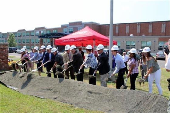Groundbreaking heralds new West Haven High School