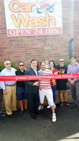 Budget Car Wash celebrates grand opening on Route 1