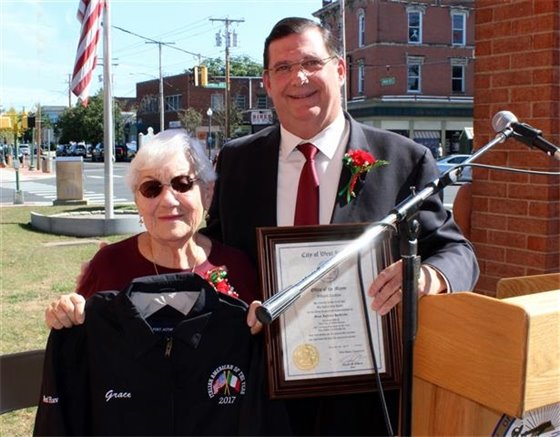 Iannucci Hendricks feted as city's Italian of the Year