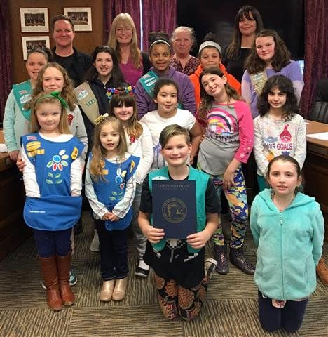 Girl Scout Day proclaimed in West Haven