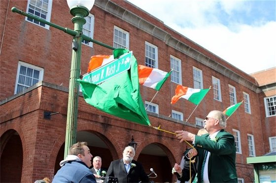 City toasts Coleman W. Walsh Jr. as Irishman of the Year
