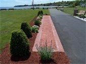Dedication of brick Veterans Walk of Honor May 26