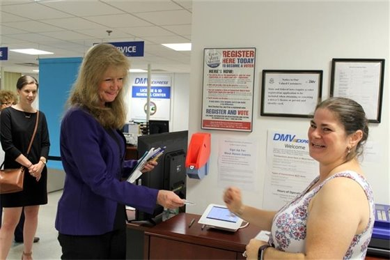 Rossi renews license as city expands DMV Express hours