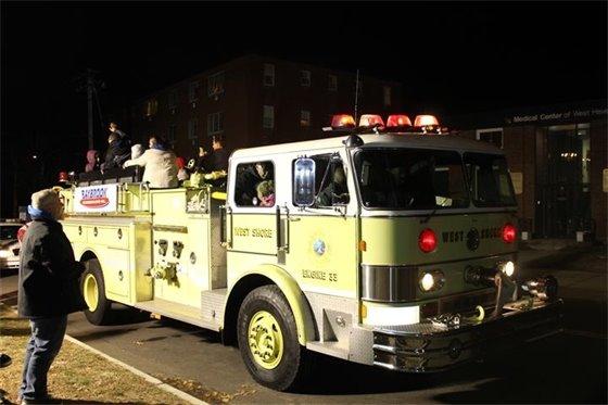 Firetruck ride
