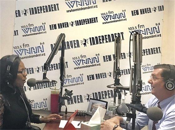 O'Brien talks economic development on call-in radio show