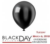 Black Balloon Day to honor victims of opioid addiction