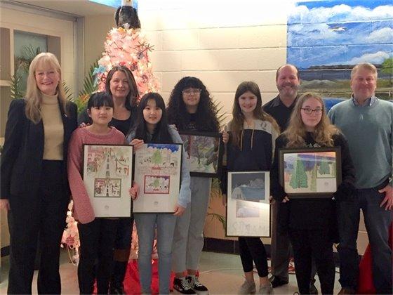 Christmas card artists