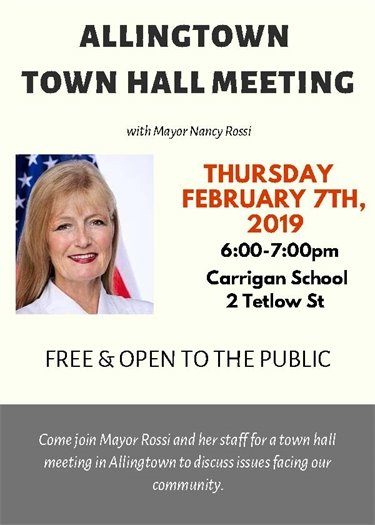 Rossi sets second town hall meeting for Thursday